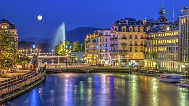 Bankenplatz Genf: Schauplatz großer Datendiebstähle