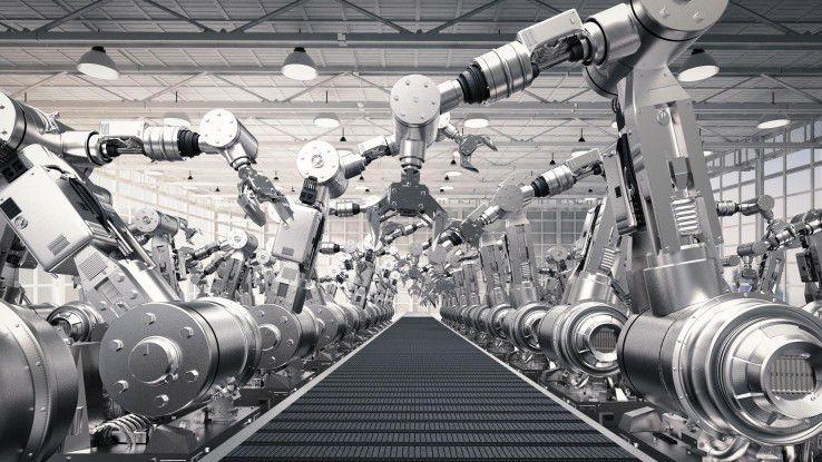 Industrie 4.0 führt zu einer erhöhten Automatisierung und Produktivität. Die Folgen für die Beschäftigten sind noch nicht absehbar.