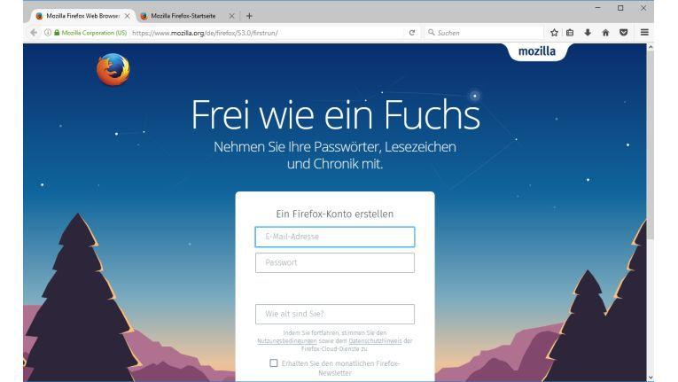 Mozilla Firefox wird immer moderner und steht Google Chrome nur in wenigen Funktionen nach.