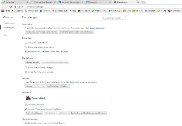 Google Chrome bietet eine übersichtliche Oberfläche und ausreichende Sicherheit.