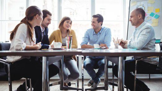 Das Feedback der Teilnehmer hilft dabei, Meetings effektiver zu gestalten.