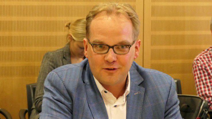 """Lars Milde, Marketing Manager bei Tableau, kennt kennt Firmen mit monatlichen Innovations-Castingsshows.. """"Die bauen ihre Digital Labs möglichst weit ab vom Unternehmenssitz."""""""