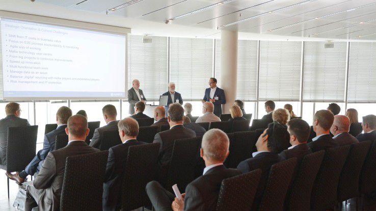In den Workshop-Sessions standen die Protagonisten den Teilnehmern Rede und Antwort.