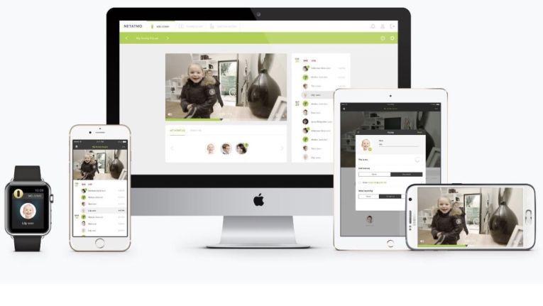 Das Bild moderner Überwachungskameras können Sie auf nahezu jedem Gerät empfangen. Hier am Beispiel der Welcome-Kamera von Netatmo.