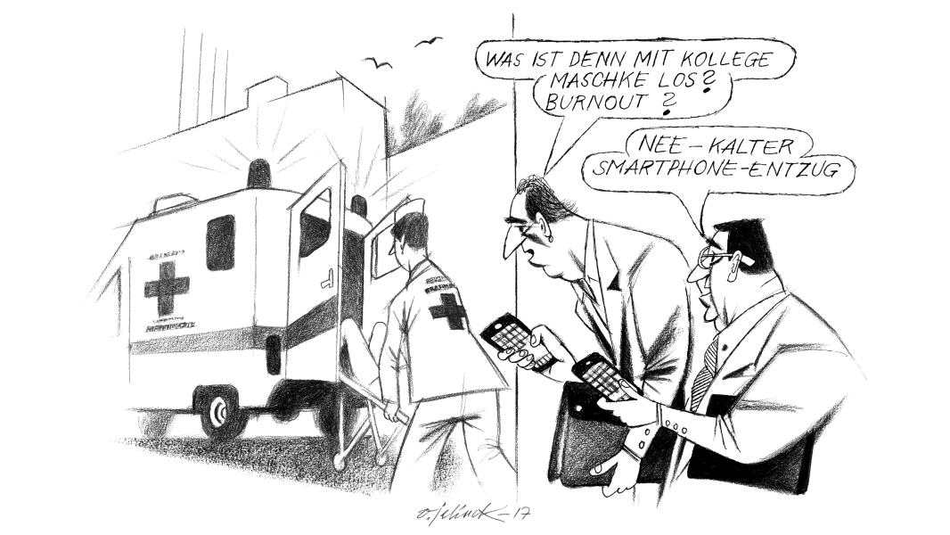 "CW Cartoon KW25/26 ""Droge Smartphone"""