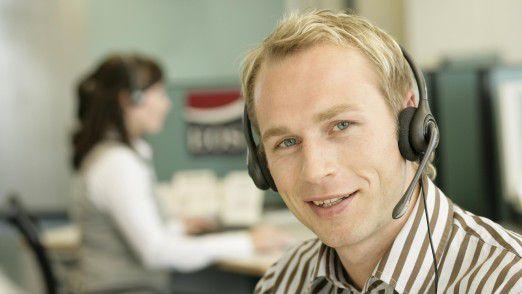 Callcenter dürfen nur mit ausdrücklicher Zustimmung Anrufe zu Werbezwecken durchführen.