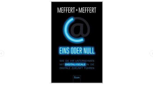 """Buchcover """"Eins oder Null"""" von Jürgen und Heribert Meffert."""