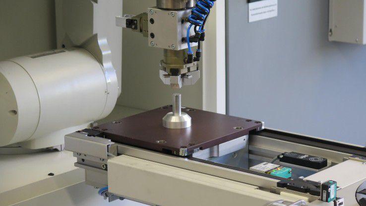 In der Lernfabrik wird Schülern der FTS Industrie 4.0 erlebbar und begreifbar gemacht.
