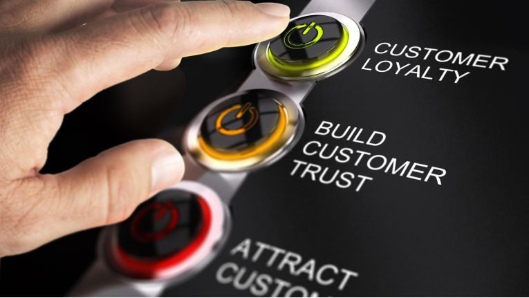 Kunden teilen ihre Daten nur mit Unternehmen, denen sie vertrauen.
