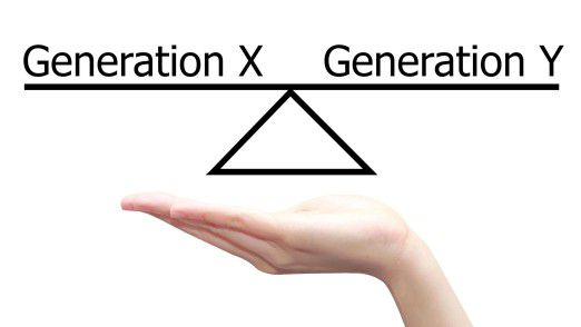Eine gute und erfolgversprechende Unternehmenskultur muss zum Ziel haben, dass die Mitarbeiter der Generation X mit den Mitarbeitern der Generation Y und Z - den Digital Natives - im Gleichgewicht agiert.