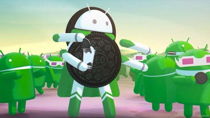 Android 8 ist gestartet und heißt Oreo. Der klassische Oreo in den USA ist ein Doppelkeks mit weißer Füllung.
