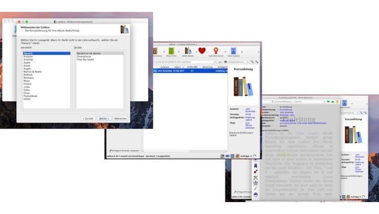 Mit Calibre verwalten und konvertieren Sie eBooks auf dem Mac. Auch die Metadaten lassen sich bearbeiten