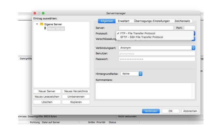 FileZilla ist ein übersichtliches Datenübertragungsprogramm für Mac und Windows.