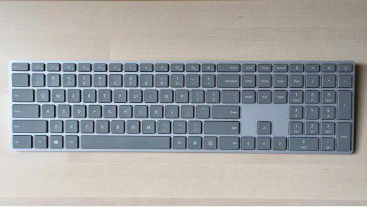 Ist Microsofts Modern Keyboard mit integriertem Fingerabdruckscanner die Traum-Tastatur für Windows-10-Benutzer?