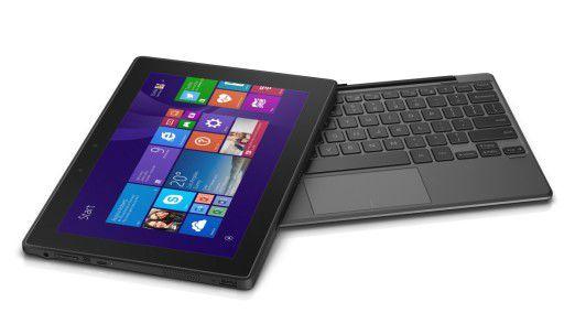 Eine Tastatur als Zubehör macht das Tablet zum Notebook