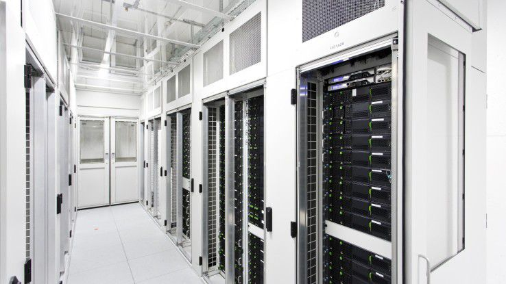 Das Sicherheitskonzept von Surient deckt Rechenzentren, Datenübertragung und Endgeräte ab.