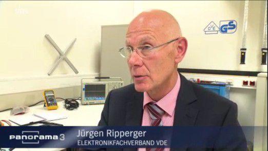 Jürgen Ripperger vom Elektronikverband HDE in NDR Panaroma 3-Interview.