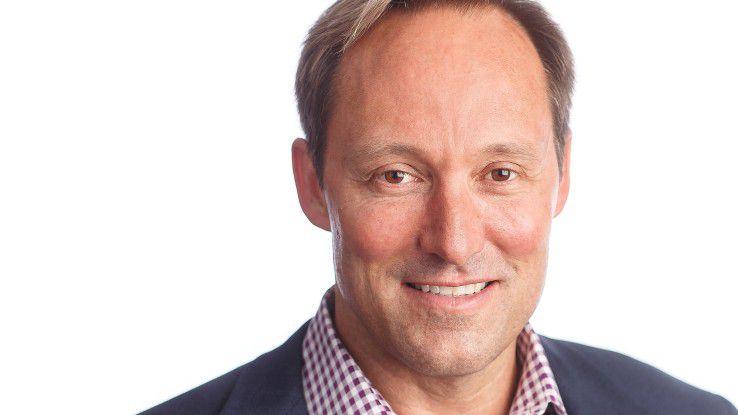 Doug Merritt, CEO von Splunk, setzt auf Machine Learning.