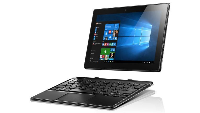 Lenovo Ideapad MIIX 310: Tastatur ist hier Standard.