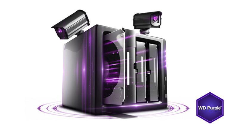 WD Purple: Bald können noch mehr Überwachungsdaten verarbeitet werden.