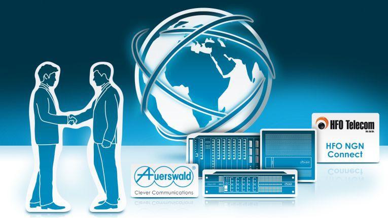 Auerswald und HFO Telecom arbeiten im All-IP-Bereich enger zusammen.