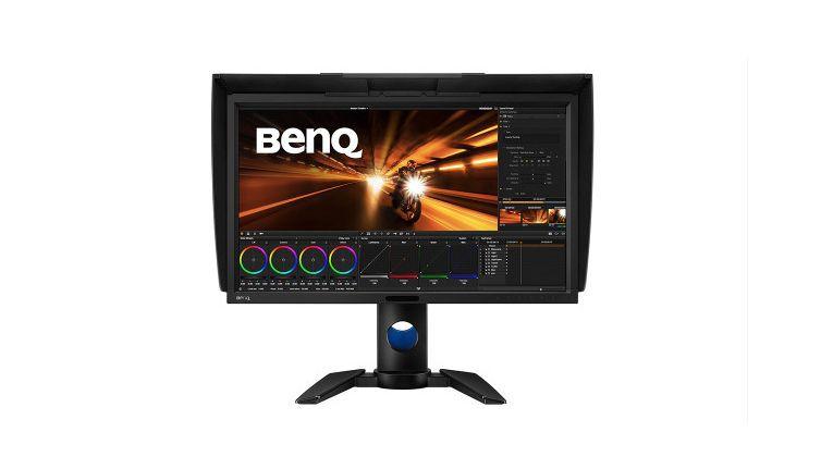 Benq PV270: Farbgenauigkeit von Delta E unter 1,5.
