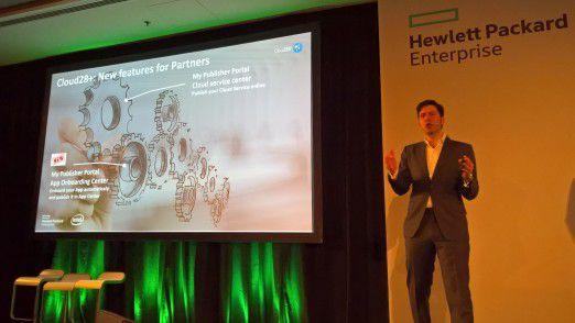 Orlando Bayter, CEO und Gründer des kanadischen Startups Ormuco, erklärt die Vorteile des neu strukturierten Service Hub von Cloud 28+, zu dem sein Unternehmen wesentliche Technologien beigetragen hat.