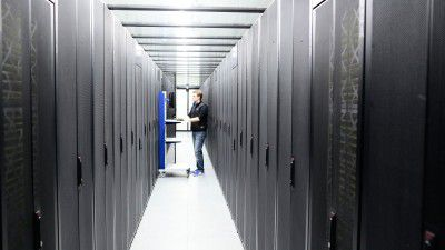 Im Data Center: Physische Absicherung der IT-Infrastruktur - Foto: Wortmann AG