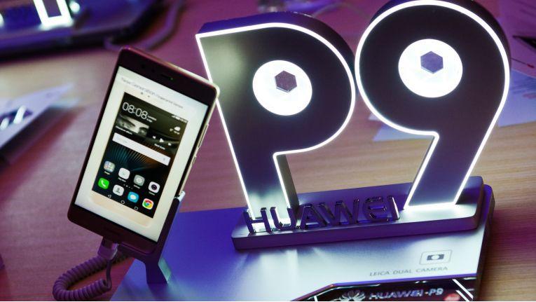 Die P9-Smartphones von Huawei laufen mit Android-Update.