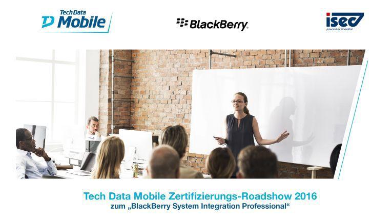 Das BlackBerry Enterprise Partner Programm für Solution Provider bietet neue Leistungen und Services für Partner, stellt aber auch höhere Anforderungen. Tech Data Mobile bietet zum Start für ihre Partner eine Zertifizierungs-Roadshow an.