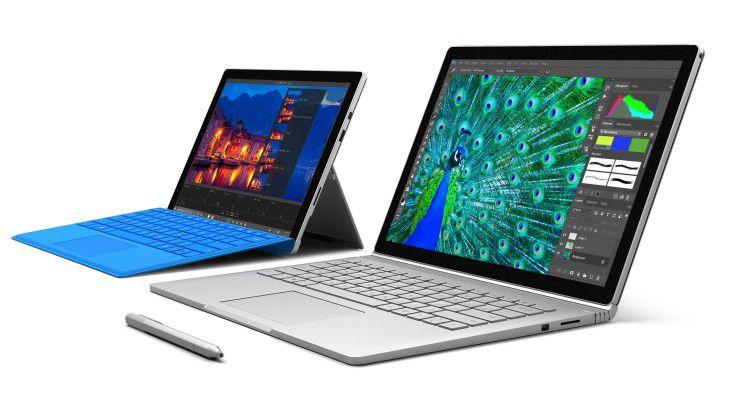 Microsoft will Surface Pro und Surface Book mit Hilfe von IBM stärker im Unternehmen etablieren.
