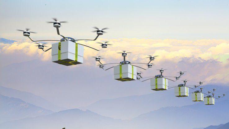 Der rechtliche Rahmen für Drohnen muss erst noch geschaffen werden.