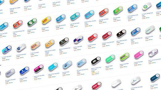 Inzwischen gibt es eine Fülle von Dash-Buttons, doch ihre Nutzung ist umstritten.