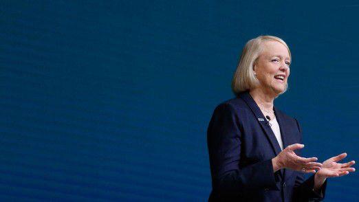 HPE-Chefin Meg Whitman hat keine guten Nachrichten zur Geschäftsentwicklung zu verkünden.