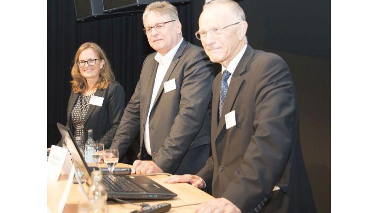 Eno Management: Katrin Bulla, Ronald Bulla und Firmengründer Bernhard Horstmann