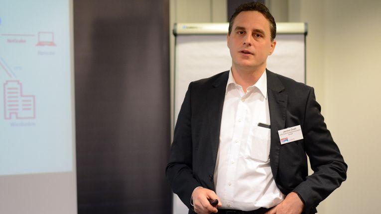 """Jochen Diehl, Geschäftsführer der indis Kommunikationssysteme GmbH aus Mainz: """"Dank der neuen Initiative können wir jetzt gemeinsam mit unseren Subpartnern ein viel größeres Gebiet abdecken."""""""