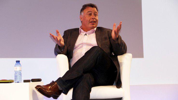 Dion Weisler, Chef der HP Inc., freut sich über starke Notebook-Geschäfte und solide Zahlen.
