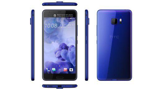 Das HTC U Ultra soll im Februar auf den Markt kommen.