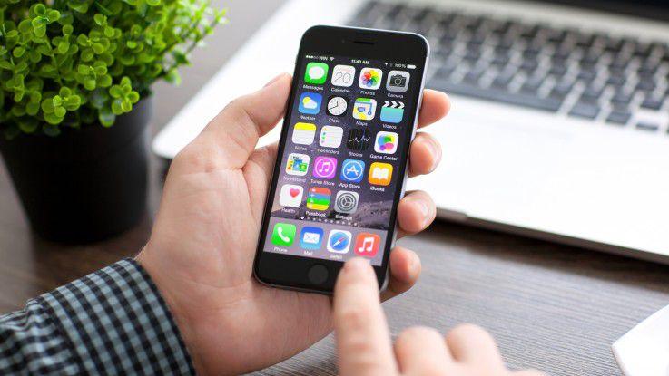 Das iPhone ist besonders im Business-Umfeld weit verbreitet.