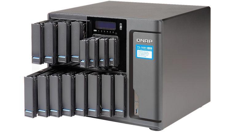Als ein Powerpaket für effiziente Speicherinfrastruktur, bewirbt Siewert & Kau das Hochleistungssystem TS-1685 Xeon-D-Super-NAS von Qnap.