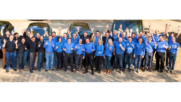 Inzwischen zählt Visoma rund zehn Mitarbeiter, so dass zusammen mit Exabyters heute 40 Mitarbeiter unter einem Dach beschäftigt sind.