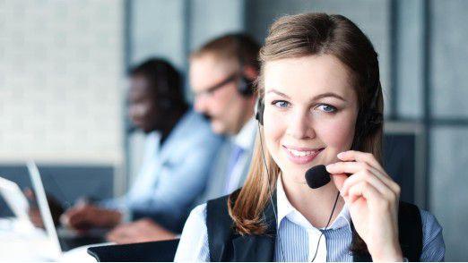 Mit der richtigen Contact Center-Lösung fällt es den Agenten leichter, die gute Laune zu bewahren.