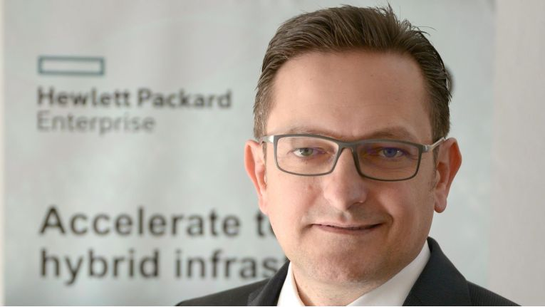"""Gerry Steinberger, Channel Sales Manager Germany bei HPE: """"Partner in die Lage versetzen, Cloud-Management effizient zu betreiben."""""""
