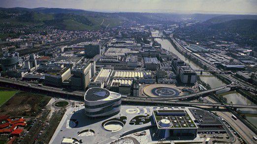 Daimlers Stammsitz in Stuttgart-Untertürkheim