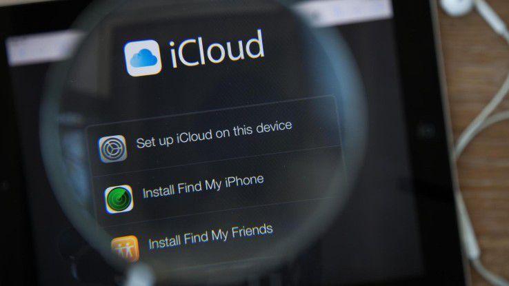 Die kostenlosen 5 GB der Apple iCloud sind schnell voll.