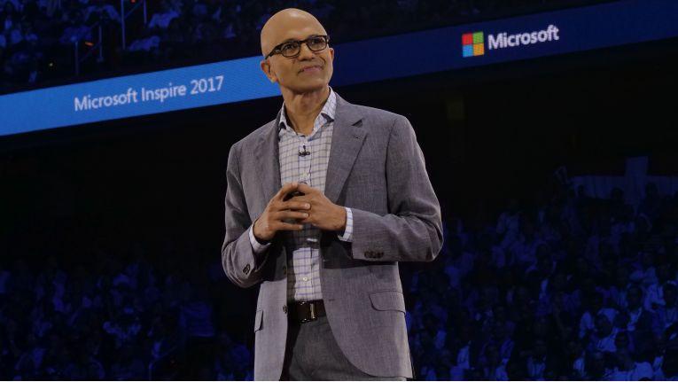 Microsoft-CEO Satya Nadella betonte in seiner Keynote auf der Inspire, dass der Hersteller klar und deutlich Partner-fokussiert bleibt.