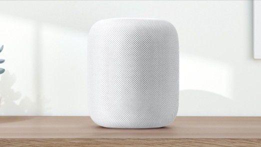 Der Homepod von Apple.