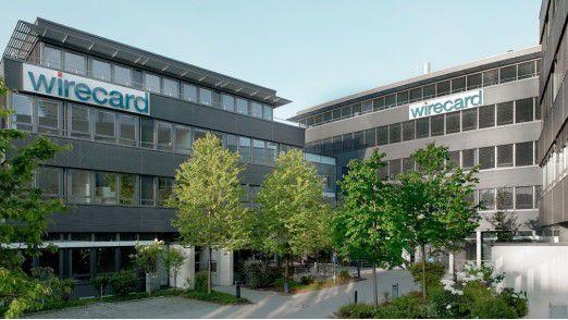Wirecard-Hauptsitz in Dornach bei München.
