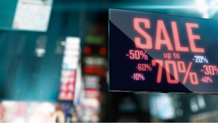 Digital Signage bietet vor allem im Handel großes Potenzial.