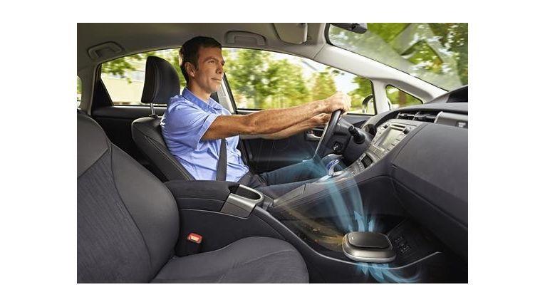 Auch im Auto kann ein spezieller Luftreiniger für ein besseres Klima sorgen.